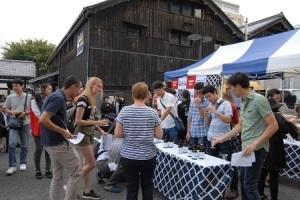 伊丹市清酒イベントの写真