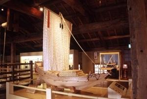 樽廻船(模型)の写真